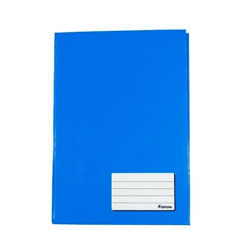 Caderno Foroni 1/4 Azul Brochura 96 folhas
