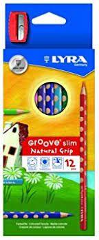 Lápis de Cor Lyra com 12 cores e Apontador