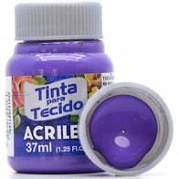 Tinta de Tecido Acrilex Violeta Cobalto 37ML