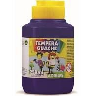 Guache 250Ml Acrilex Violeta