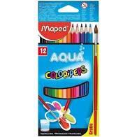 Lápis de Cor Maped Color Peps Aquarelável com 12 Unidades
