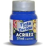 Tinta de Tecido Acrilex Azul Ultramar 37Ml