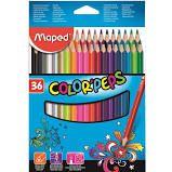 Lápis de Cor Maped Color Peps com 36 Unidades