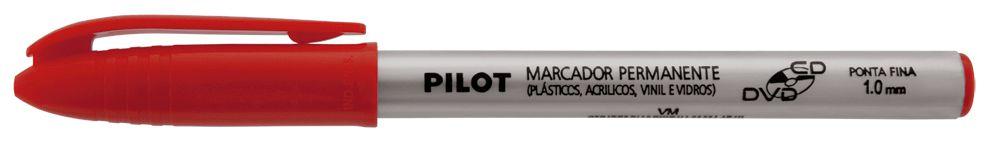Marcador Pilot 1.0 Cd/Dvd Vermelho