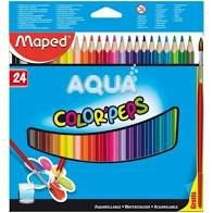 Lápis de Cor Maped Color Peps Aquarelável com 24 Unidades