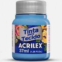 Tinta de Tecido Acrilex Azul Country 37Ml