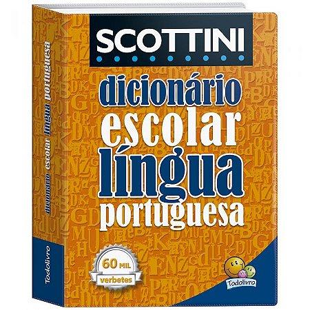 Dicionário Todo Livro Português + 60.000 Verbetes
