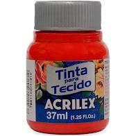 Tinta de Tecido Acrilex Vermelho Tomate 37Ml