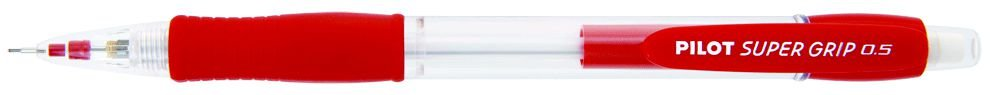 Lapiseira Pilot 0.5mm Super Grip Vermelho