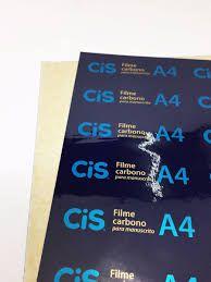 Carbono Cis Filme 21x29,7cm Unidade