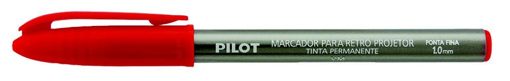 Marcador Retro 1.0 Pilot Vermelho