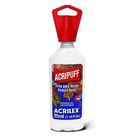 Acripuff Acrilex Branco 35Ml