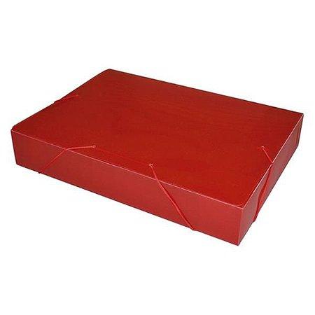 Pasta com Elástico Acp 55mm Vermelho