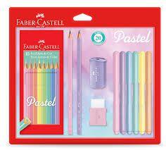Kit Faber Castell Tons Pastel com 20 unidades