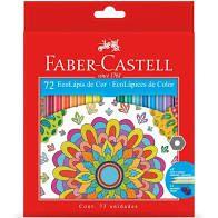 Lápis de Cor Faber-Castell Eco Lápis com 72 unidades