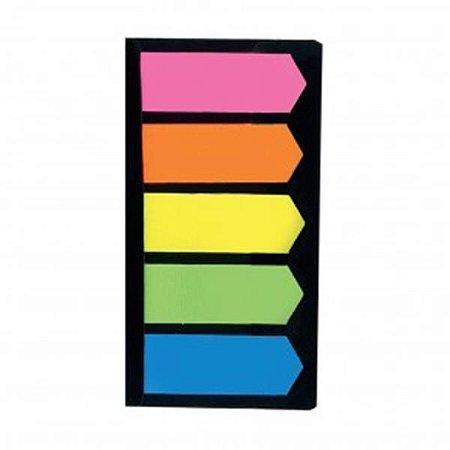 Bloco Adesivo Yes Neon Seta 5 cores 12X48mm