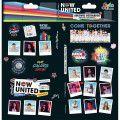 Adesivo Decorado Duplo Now United