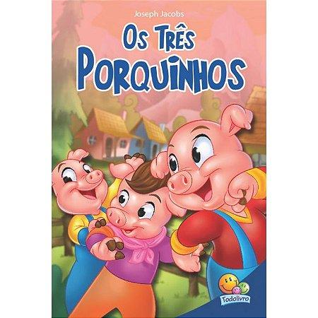Classic Stars: Os Três Porquinhos - Editora Todo Livro