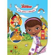 Disney Junior Crie Pinte Rabisque - Editora Curitiba