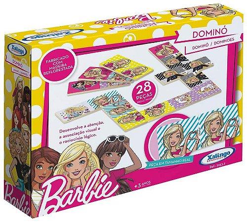 Dominó Barbie Xalingo em Madeira
