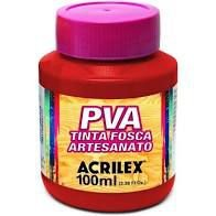 Tinta Pva Acrilex Fosca Romã 100Ml