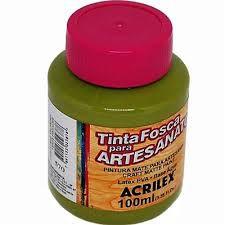 Tinta Pva Acrilex Fosca Verde Pistache 100Ml