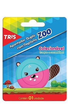 Apontador Tris Zoo Castor com Depósito