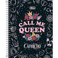 Caderno Tilibra 10X1 Capricho College 160 folhas