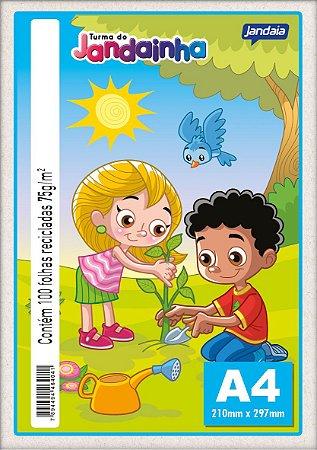 Papel A4 75G Jandainha Reciclado 100 folhas