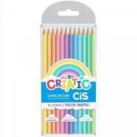 Lápis de Cor Cis Criatic Tons Pastel com 12 Unidades