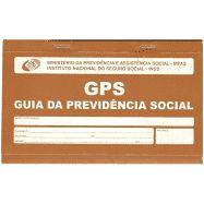 Bloco Guia da Previdência Social (GPS) São Domingos 12fls