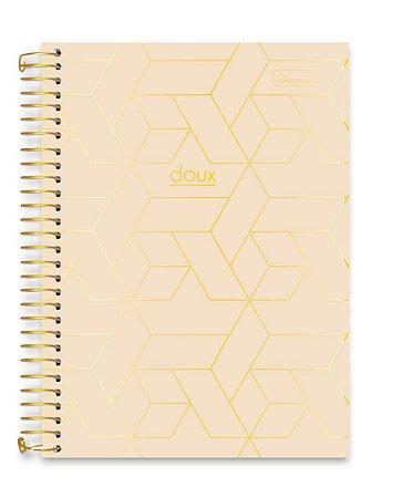 Caderno Cadersil 15x1 College Doux Marfim 240 folhas