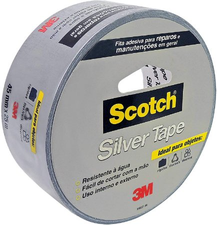 Fita 3M Scotch Silver Tape 45mmx5M