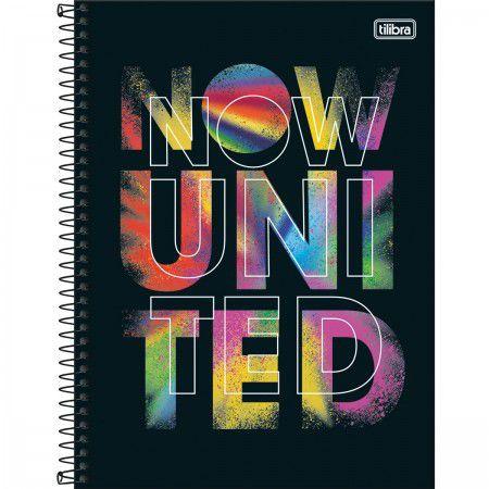 Caderno Tilibra 10X1 Now United Colors 160 folhas