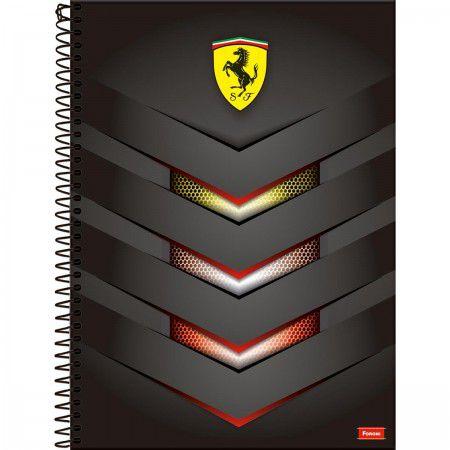 Caderno Foroni 10X1 Ferrari Escudo 200 folhas