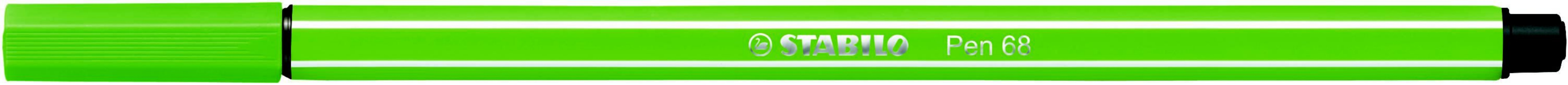 Caneta Stabilo 1.0 Pen 68/33 Maçã Verde