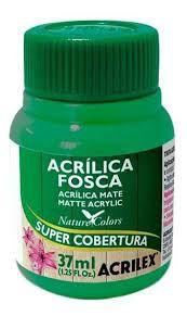 Tinta Acrílica Fosca Acrilex Verde Grama 37Ml