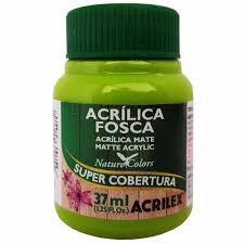 Tinta Acrilica Fosca Acrilex Verde Maça 37ML