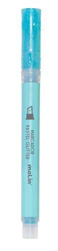 Marca Texto Molin Pastel com Glitter Azul