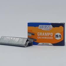 Grampo Brw 26/6 Galvanizado 1000 unidades