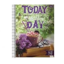 Caderno Foroni 10X1 Like It Today Is The Day 200 folhas
