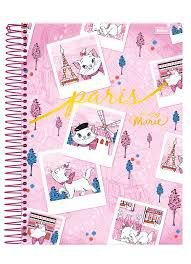 Caderno Foroni 10X1 Marie Paris 200 folhas