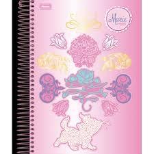 Caderno Foroni 10X1 Marie de Pérola 200 folhas