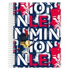 Caderno Foroni 10X1 Minnions Inglaterra 200 folhas