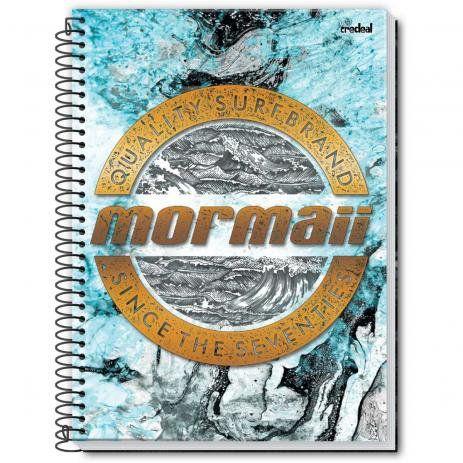 Caderno Credeal 10X1 Mormaii Quality Surf Brand 200 folhas