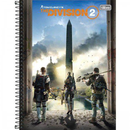 Caderno Tilibra 10X1 Division 2 Torre Obelisco 160 folhas