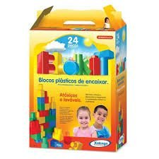 Blocos para Montar Xalingo Blokit 24 peças