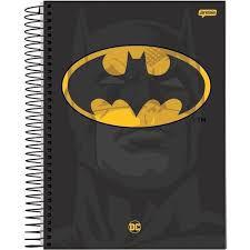 Caderno Jandaia 10X1 Dc Comics Batman 200 folhas