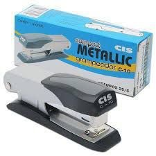 Grampeador Cis Compact Metallic C-10 para 25 folhas