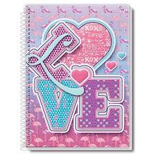 Caderno Credeal 10X1 Love 200 folhas